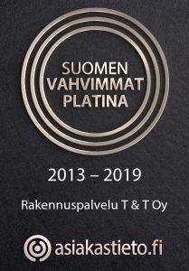 Rakennuspalvelu T&T Oy on suomen vahvimpiin kuuluva yritys Oulussa.
