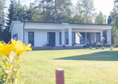 Oulun seudulla upean omakotitalon sinulle rakentaa Rakennuspalvelu T&T.
