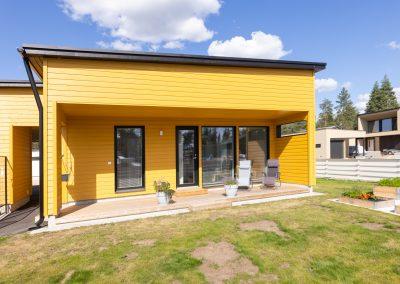 Loistava ja iloinen asunto Oulun seudulla on toteuttanut Rakennuspalvelu T&T.