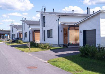 Rakennuspalvelu T&T rakentaa asunnot Oulun seudulla.